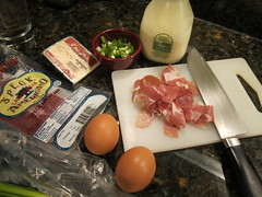 Breakfast Pizza Ingredients