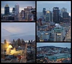 Le jour se lève sur Montréal...