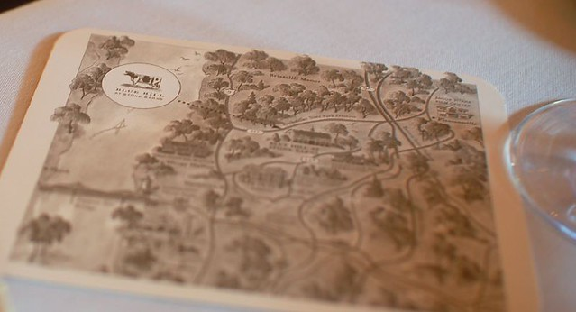 Blue Hill at Stone Barns Map
