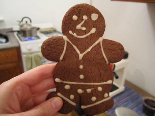 Vegan Gingerbread Man