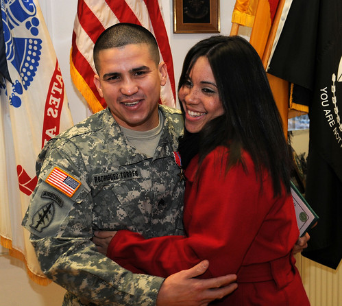 10 sfg a  cook awarded bsm and cab  sgt  javier rodriguez torres  left