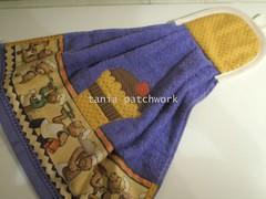 Bate mo Ursinhos Cozinheiros (tania patchwork) Tags: cupcake ursos patchworkcozinha