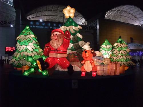 マカオ・拱北口岸のクリスマス