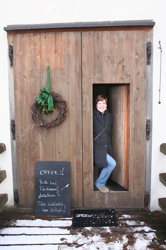 tiny door into Franziskischlossl