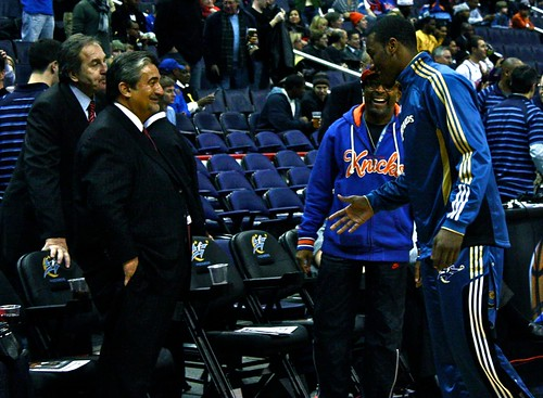 spike lee, ted leonsis, john wall, washington wizards, verizon center, new york knicks