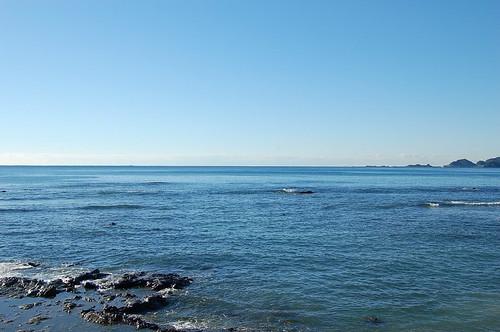 朝の海から
