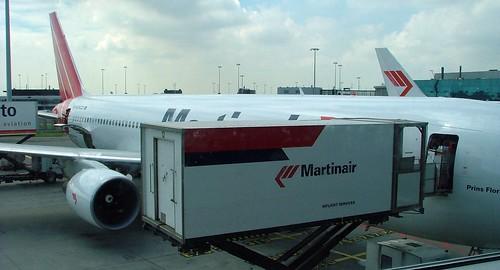 met Martinair naar Canada