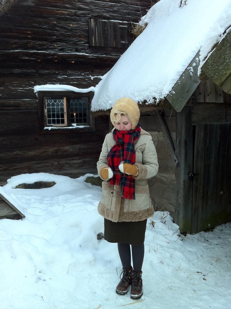 Johanna at Skansen