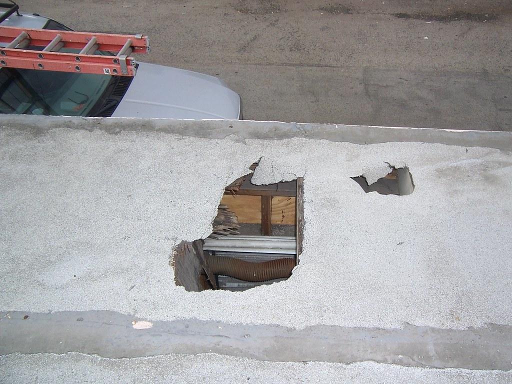 Temporary Roof Repair 1 of 2