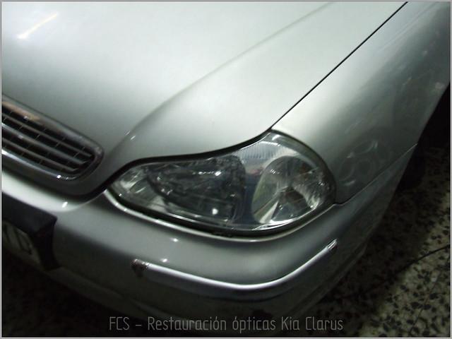 Restauración ópticas Kia Clarus-5