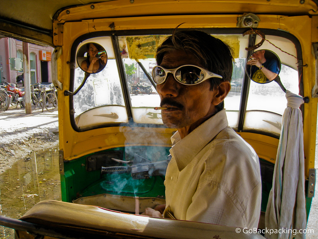 India's coolest tuk-tuk driver