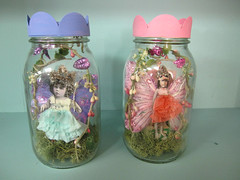Custom Order: Jar Fairies!