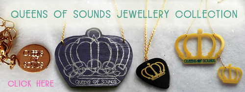 Queens Of Sounds Jewellery Barnner