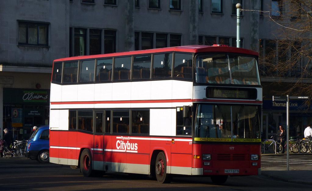 Plymouth Citybus 177 H177GTT