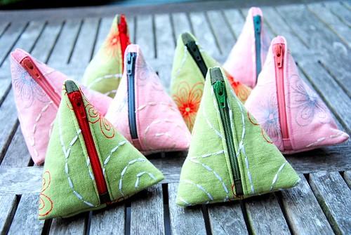 piramidetasjes (klein geld) - kerstmarkt