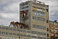 Day 2 - Silo  grain no. 5 (Vents du Nord) Tags: urban canada building port concrete rust ruins harbour decay montreal silo ruine cereals btiment rouille bton dlabr dsaffect silograin