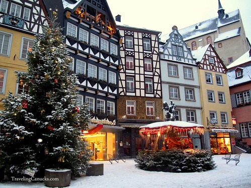 Christmas in Cochem, Germany