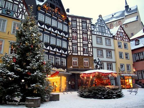 Christmas in Cochem, Germany