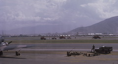 Foaming Runway - Danang AB - 1967 (aviatorr727) Tags: japan thailand army flying mac war bangkok aviation flight navy taiwan f100 korea vietnam f okinawa marines 105 fighters airforce phantom tac usaf hue saigon panam hercules twa danang c130 c141 airlift f4e reddevils khesanh f4c camranhbay pacaf f8u udorn tuyhoa 50thtas
