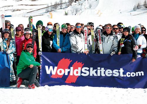 Testy lyží - World Skitest 2010/2011