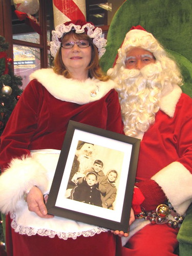Vancouver resident Lynda Luxton's 53 Years Fond Memories of Posing With Santa at Downtown Woodward's Store
