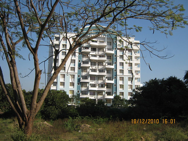 Visit to Aurum Developers and Sanskruti Group's Allure 2.5 BHK - 3 BHK Flats behind Shree Bal Developers' Kapil Malhar and near Kapil Tranquil Greens on Baner Road Pune 411 045 - what's the name of this building?