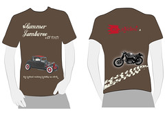 summer jamboree shirt (ribroga) Tags: summer bike shirt fun mono graphic tshirt it cylinder moto bmw suzuki custom disegno jamboree rewind recycles grafica maglia maglietta restyle