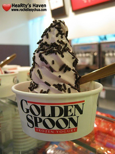 golden spoon flavored yogurt