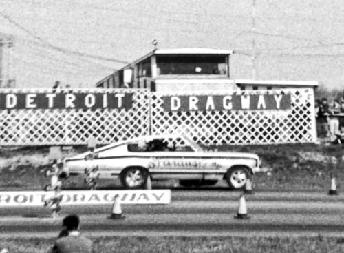 Don Shumacher Stardust Funny Car at Detroit Dragway