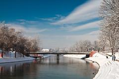 Ljubljanica (dusan.smolnikar) Tags: sky water clouds ljubljana ljubljanica canoneos7d