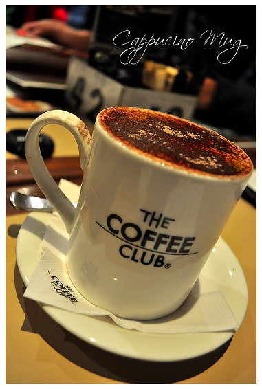The Coffee Club: Cappucino Mug