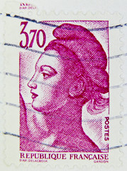 beautiful stamp Briefmarke France 3,70F 3.70 timbre Francaise Marianne France Frankreich RF Postes francaise postage revenue porto francobolli bollo sello marke marka franco timbres Frankreich Briefmarken (stampolina) Tags: ladies red portrait france rot postes rouge rojo women frankreich purple stamps retrato lila vermelho lilac donne marianne mulheres portret rood rosso ritratto femmes  vermilion perempuan merah dames babae   sellos piros  punainen  kobiety  briefmarken  rouges czerwony krmz  selos senhoras timbres portr timbreposte francobolli bollo    kadn    rdea    erven  nk   frimaerke     mu