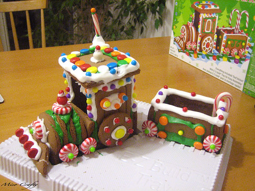 Gingerbread Train - The Fail