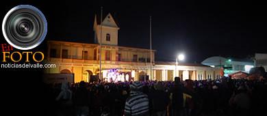 Noche de música y luces