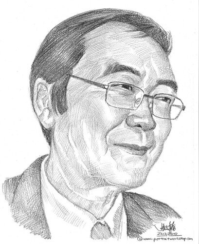portrait in pencil -1
