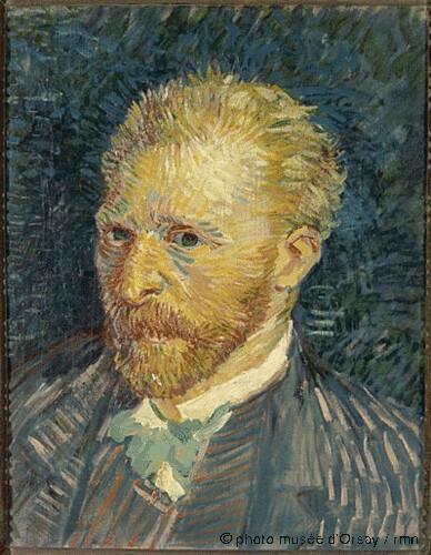 Portrait de l'artiste, Vincent Van Gogh,