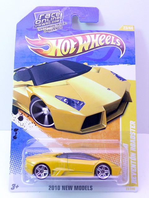 hot wheels lamborghini reventon roadster yellow (1)