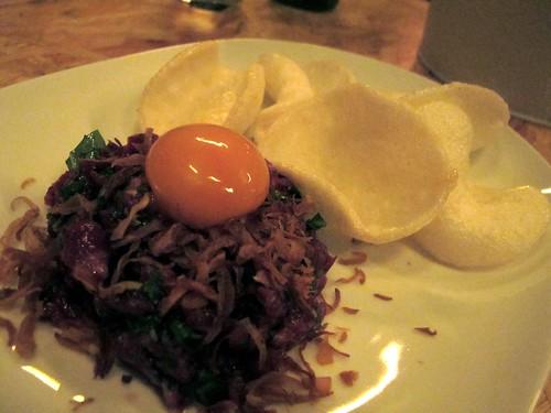 Vietnamese steak tartare
