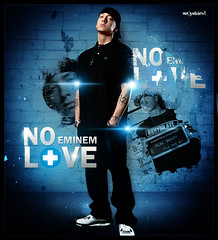 No Love [ Eminem - Mr JunkieXL ] (Mr.JunkieXL) Tags: love me design hurt mr no wayne more lil 2010 eminem junkiexl