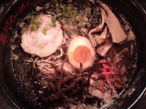 Mayu ramen at Terakawa