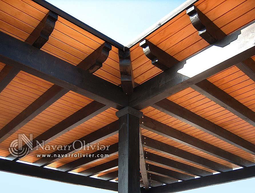 Tejados de madera precios excellent tejados de madera - Vigas de madera baratas ...