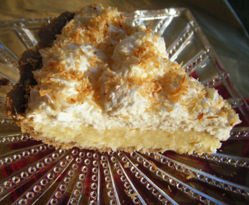 Healthy Coconut Cream Pie
