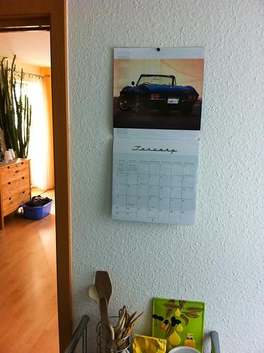 Mustle Car Calendar