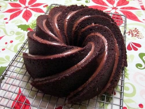 Chocolate Bundt Swirl