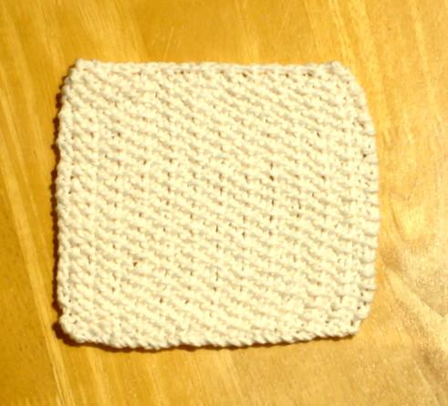 Soft Ecru Knit Cotton Cloth