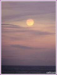 Luna Llena (celicom) Tags: mar luna llena