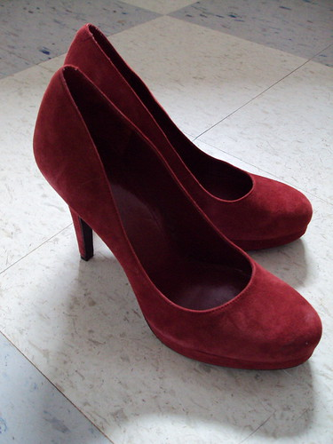 New BCBG Generation Suede Pumps