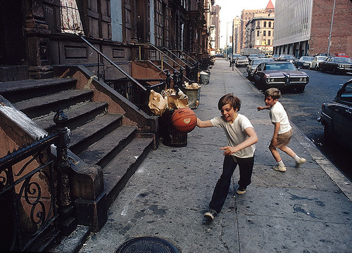 Street Ball, New York 1971, by Walter Iooss Jr
