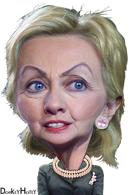 Hillary Clinton - Caricature