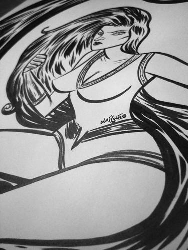 Marvel Medusa Fanart